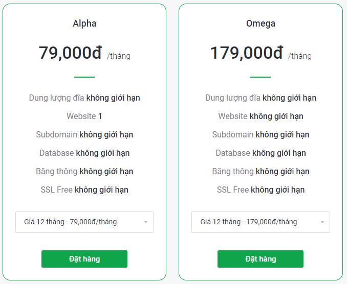 gói hosting giá rẻ tinohost