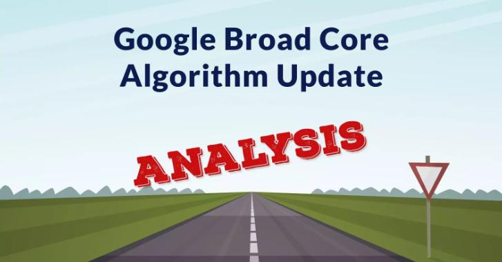 Google cập nhật thuật toán core