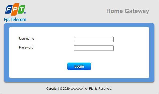 đăng nhập hệ thống quản lý fpt